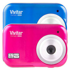 Vivitar ViviCam X054 Digital Camera/10MP/Photo/Video/1.5inch LCD/AAA/USB