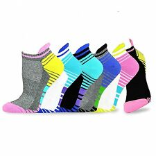 Teehee Women Cushioned Low Cut Socks 6-Pack