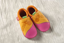 Pololo Soft Baby Leather Shoe Giraffe girls