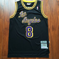 NBA Los Angeles Lakers Magic Johnson Throwback Hardwood Sewn/Stitched Jersey NWT