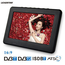 7 inch TFT LCD Digital color Portable TV Player w/Wide View Angle TFT-LED Screen