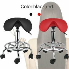 Professional Hydraulic Adjustable Stool Chair Beauty Salon Spa Facial Massage AL