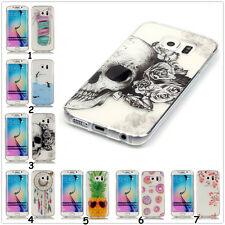 HQ Slim Clear Soft Silicon TPU IMD Rubber Gel Back Case Cover For iPhone/Samsung