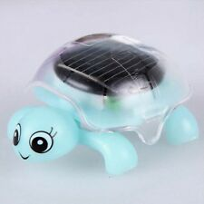 Cute Solar Powered Mini Tortoise Turtle Kids Toddler Educational Toy 4 Colors