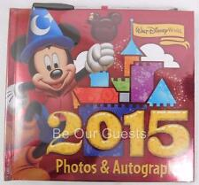 Disney Parks 2015 Sorcerer Mickey Mouse Photo and Autograph Book w/ Gel Pen New