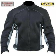 Xelement Men's CF505 Mesh Level-3 Padded Armored Sport Motorcycle Jacket