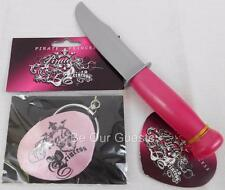 Disney Parks Pirate Princess Pink Eye Patch Ear Ring Dagger Costume Accessories
