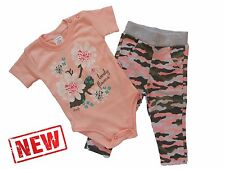 *NEW* Baby Girls **2 Piece* Outfit *Set **100% COTTON**