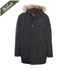 Woolrich Mens 550 Fill Arctic Down Parka  from Black Navy Khaki Darkwood Colors