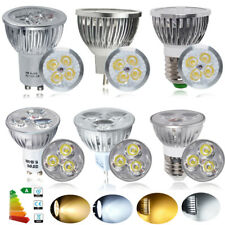 10x High Power GU10 / MR16 4W / 6W LED Bulbs Spot Light Warm / Day White Lamp UK