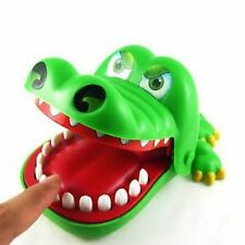 Hot Kids Children Cute Gifts Crocodile Mouth Dentist Bite Finger Game Funny Toys