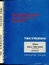 Original Tektronix Service Manual for the 221 Oscilloscope