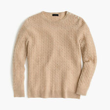 NWT - J.CREW - Collection Cashmere Mini-Cable Sweater - size XXS or S $238