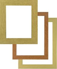 Picture photo frame poster frame large wood wooden texture  in various sizes