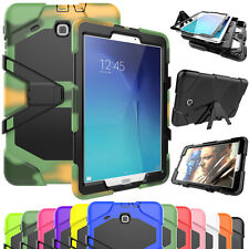 For Samsung Galaxy Tab 3 4 A E New Shockproof Heavy Duty Rubber Hard Case Cover
