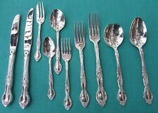GAINSBOROUGH Pattern Dinner & Serving Pieces By Grosvenor Nickel Silver Plate