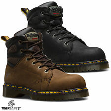 Dr Martens DM Docs Fairleigh ST SRA Steel Toe Cap Leather Work Safety Boots PPE