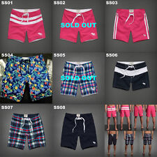 NWT ABERCROMBIE & FITCH MENS MULTI COLOR SWIM TRUNKS BOARD SHORTS SIZE M,L,XL