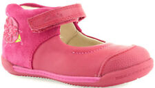 New Season Clarks SOFTLY ROSE Girls Berry Pink Leather Shoes 3 - 7 F  G Fit BNIB