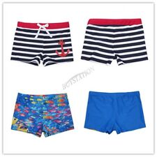 Kids Boys Shorts Swimming Trunks Boxer Briefs Beach Holiday Panties Swimwear