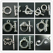 Wholesale Lot Tibet Silver Toggle Clasps For Jewelry Making