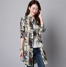 Long Sleeve Square Collar Long Sleeve Cotton Fabric Blouse For Women