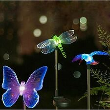 Garden Solar Stake Light Yard Powered Color Led Changing Outdoor Patio Decor