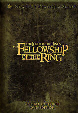 NEW The Lord of the Rings The Fellowship of the Ring 4-Disc Extended Edition