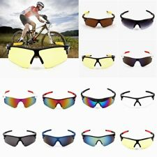 Mirrored Lens Half Frame Sports Sunglasses Men's Wrap Around Sunglasses Cycling