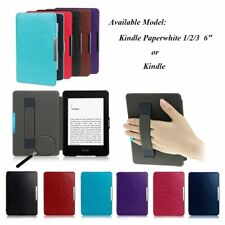 Intelligent Leather Skin Case Cover For Amazon Kindle Paperwhite/Kindle