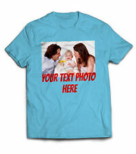 Kids Personalized custom funny cool birthday gift Big own text photo tee t shirt