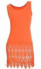 NEW Shirt Extender Pretty Angel Clothing Fanny Lace Shirt Dress In Rust 62738