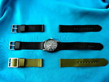 TIMEX OEM NYLON REPALCEMENT CAMPER MILITARY STYLE WATCH BANDS