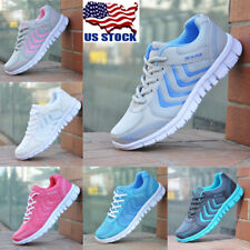 US Women Fashion Running Trainers Athletic Tennis Sport Ultra-Light Comfy Shoes