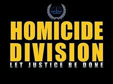 Police Detective Poster Homicide Division Police Officer Poster