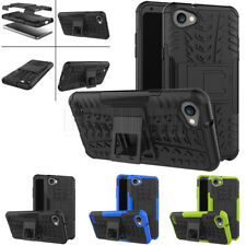 Slim Hybrid Rugged Shockproof Hard Case Protective Stand Cover For LG Q6/Q6 Mini