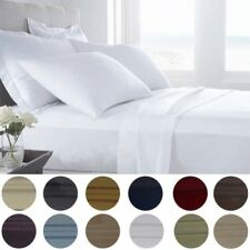 6-Piece: Presidential Collection 1800 Series Egyptian Comfort Bed Sheet Set