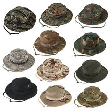 CLASSIC US ARMY BOONIE HAT RIPSTOP Jungle Sun Hat Outdoor Hiking Fishing Cap