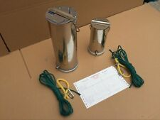 Stainless steel water sampling sampler bottle can Hydrophore thief e