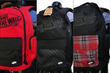 New Vans Underrhill Mens Skateboard Laptop Pad Backpack School Travel Bag