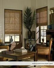 """Woven Wood Roman Shades, 39 to 41 Inches Wide, Any size from 18""""-72"""" Wide"""