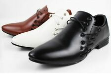 Mens Dress Formal Oxfords Wedding party Office Casual Shoes Business Dress 2017
