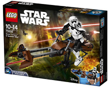 LEGO Star Wars Scout Trooper & Speeder Bike #75532 New In-stock (FREE SHIPPING)