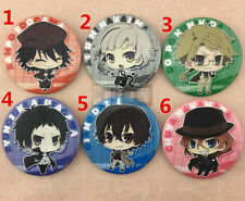 """T303  Anime Bungou Stray Dogs badge Pin button 5.8CM(2.3"""")"""