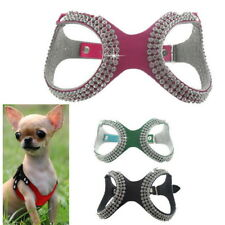 Pet Small Teacup Dog Harness Soft Vest Puppy Collar chihuahua yorkie S/M/L QW