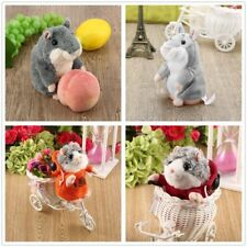 Adorable Toy Mimicry Pet Speak Talking Record Hamster Mouse Plush Kids Toy XP