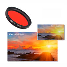 Universal 37mm Complete Graduated Color Filter Lens for Camera - 11 Colors