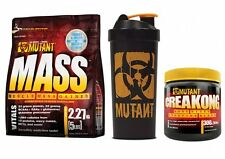 pvl Mutant Mass 2.2kg + mutant creakong + mutant shaker gainer creatine FAST P&P