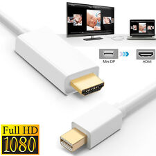 6FT Mini DisplayPort to HDMI Display Port Cable Adapter For MacBook Pro Air Mac