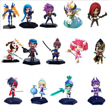 League of Legends PVC Figures Figure Action Doll Cute LOL Car Decorationv Toy